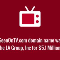 AsseenonTV.vom domain name sale