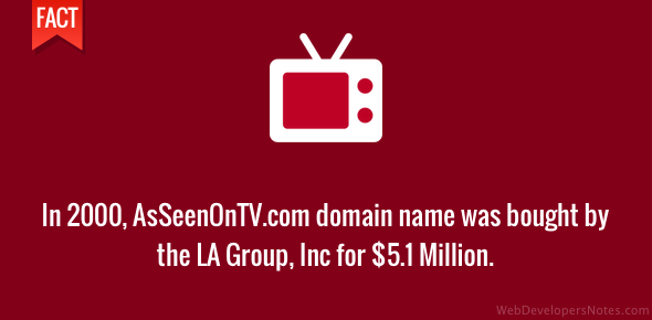 AsseenonTV.vom domain name sale