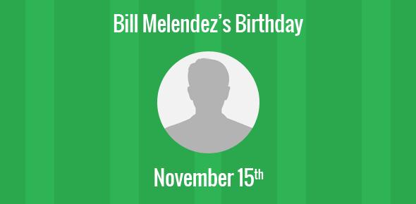 Bill Melendez Birthday - 15 November 1916