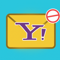 Block spam at Yahoo email account
