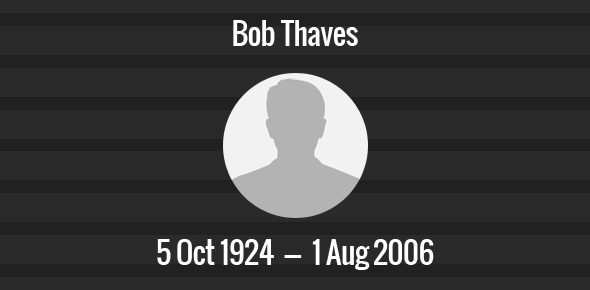 Bob Thaves Death Anniversary - 1 August 2006