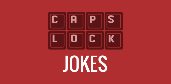 Caps Lock jokes and funny images