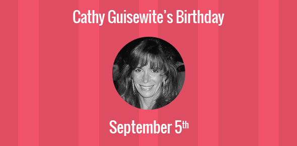 Birthday Of Cathy Guisewite Creator Of Cathy Comic Strip