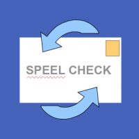 How do I change the spell check dictionary from French to English in Outlook Express?