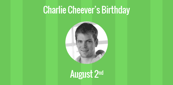 Charlie Cheever Birthday - 2 August 1981