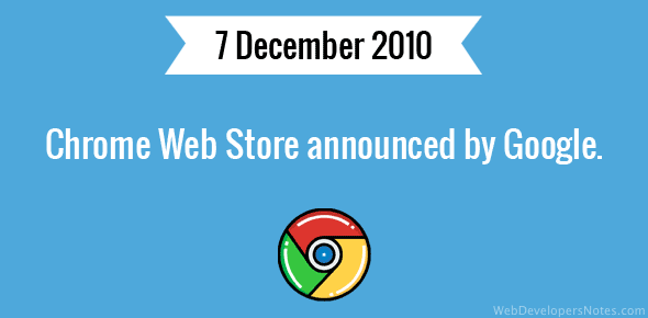 Chrome Web Store announced by Google.