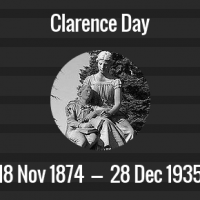 Clarence Day Death Anniversary - 28 December 1935