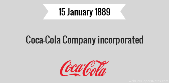 Coca-Cola Company incorporated