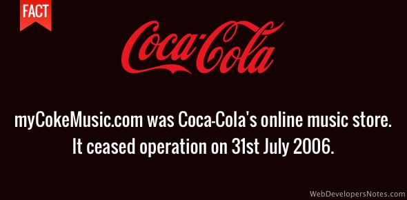 mycokemusic.com - Coca-cola online music store