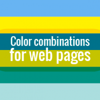 Color combinations for web pages