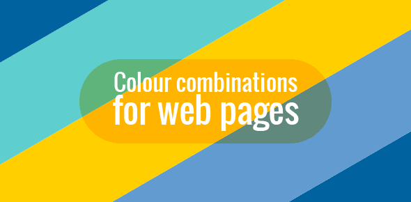 Colour combinations for web pages
