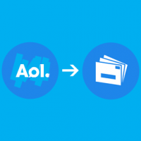 How do I configure AOL email in Windows Live Mail through POP?