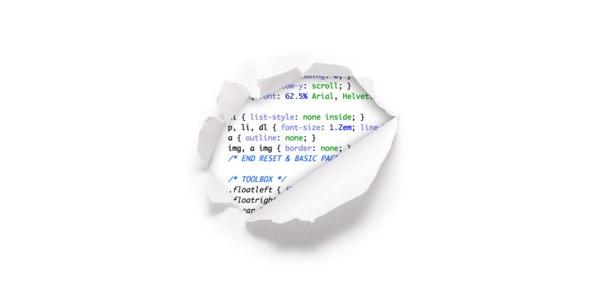 CSSTricks 404 error page