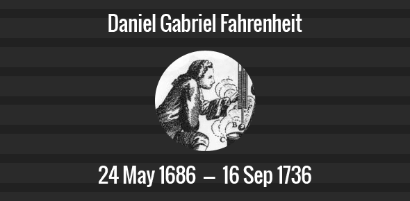 daniel gabriel fahrenheit Discover and share daniel gabriel fahrenheit quotes explore our collection of motivational and famous quotes by authors you know and love.
