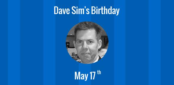 Dave Sim's Birthday