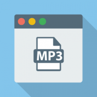 How do I add MP3 song on web page?