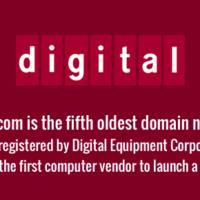 Fifth oldest domain name - DEC.com