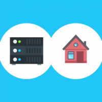 How is a web hosting Server different from your home or office machine?