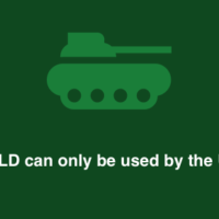 Dot-mil domain name TLD used for US military web sites