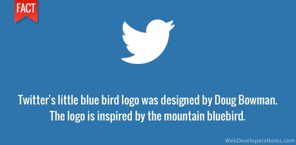 Twitter logo designer - Doug Bowman
