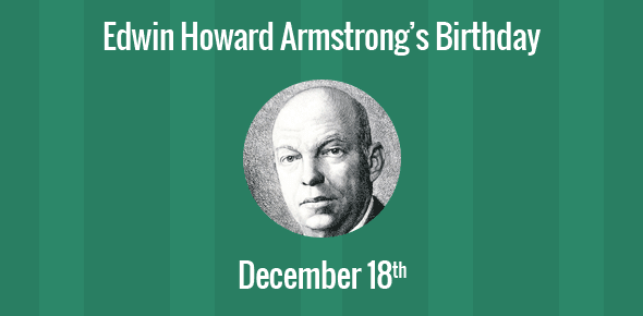an introduction to the life of major edwin howard armstrong Need writing major edwin howard armstrong essay use our essay writing services or get access to database of 803 free essays samples about major edwin howard armstrong.