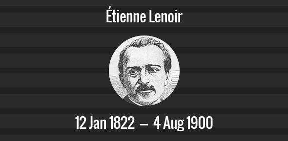Étienne Lenoir Death Anniversary - 4 August 1900
