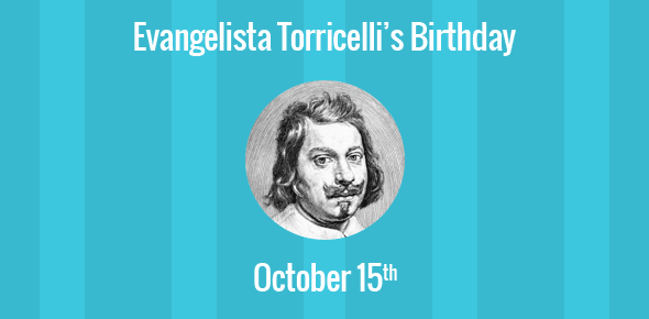 an introduction to the life of evangelista torricelli Torricelli's mathematical contributions include the discovery of the gabriel's horn paradox this was a three-dimensional shape that had an infinite surface area but finite volume the horn was formed by the equation y = 1/x between the values x=1 and x=a.