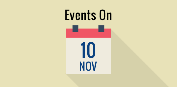 Events on 10 November