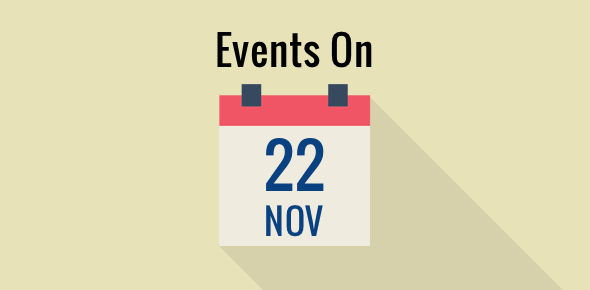 Events on 22 November