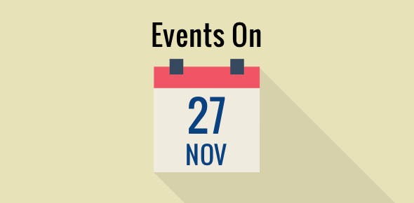 Events on 27 November