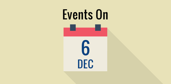 Events on 6 December