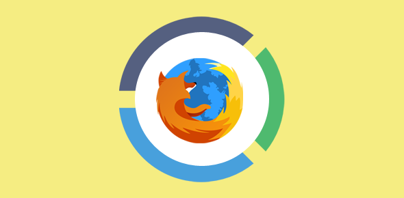 Firefox web browser usage statistics