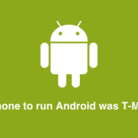 First phone to run Android