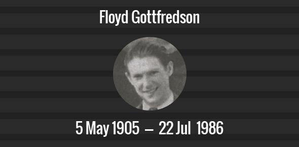 Floyd Gottfredson Death Anniversary - 22 July 1986