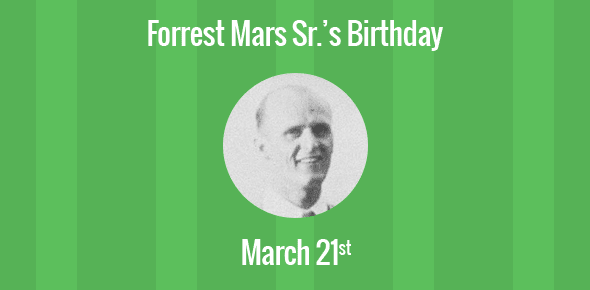 Image result for forrest mars sr
