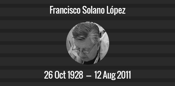 Francisco Solano López Death Anniversary - 12 August 2011