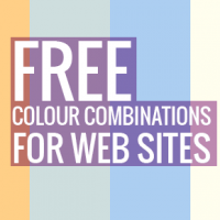 Free colour combinations for web sites