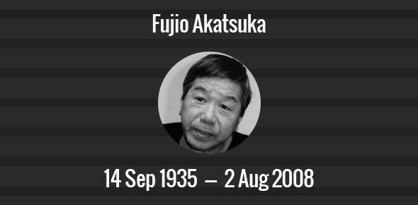Fujio Akatsuka Death Anniversary - 2 August 2008