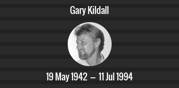 Gary Kildall Death Anniversary - 11 July 1994