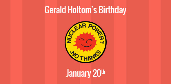 Birthday Of Gerald Holtom Designer Of The Peace Symbol The Cnd Logo