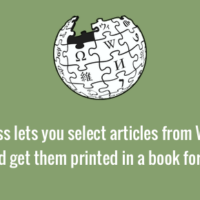 Make book of Wikipedia articles