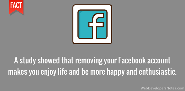 Get out of Facebook to enjoy life