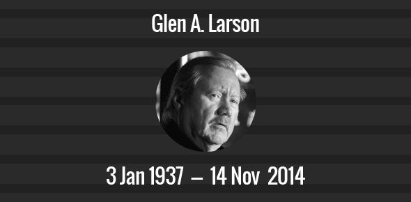 Glen A. Larson Death Anniversary - 14 November 2014