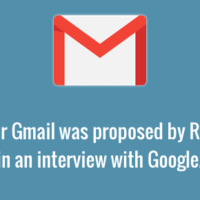 Gmail idea proposed by Rajen Sheth