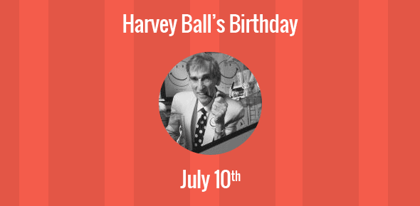 Harvey Ball Birthday - 10 July 1921