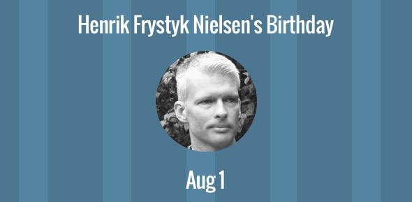 Henrik Frystyk Nielsen birthday