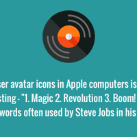 Hidden meaning of the Mac vinyl avatar icon