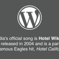 Wikipedia official song - Hotel Wikipedia