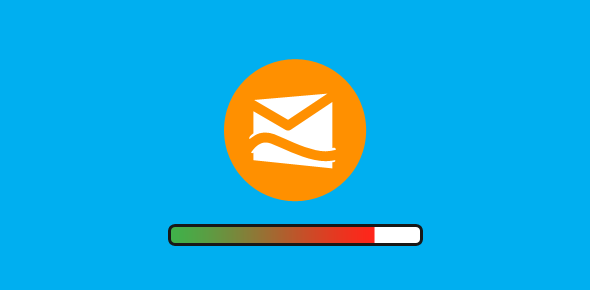 Hotmail email limit