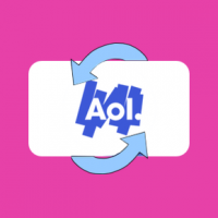 How do I configure AOL email in Outlook Express using POP3?